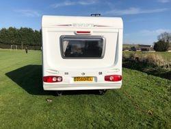 caravan rear view exterior