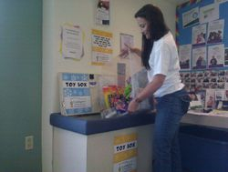 Filling the Clinic Toybox