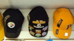 Steelers hats.