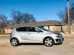 2015 Chevrolet Sonic LTZ  $5,750