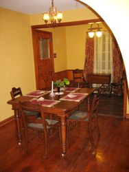 Dining Room fo six people