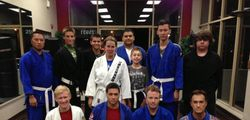 Some of the NEW STUDENTS at BGBJJ