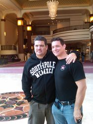 With Master Rigan Machado