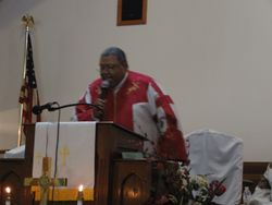 Presiding Elder Melvin E. Wilson