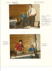 Frank Gallent VE1BPM , Jack McGee VE1CZD & Gerry Hannah VE1KW