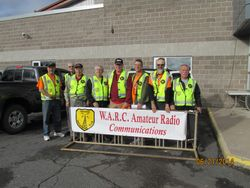 WARC at YMCA Run. June 2014