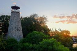 Sunset at Barcelona Lighthouse - Westfield, NY