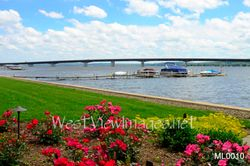 Chautauqua Lake Bridge at Bemus Point, NY