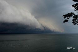 Storm Cloud on Lake Erie, NY
