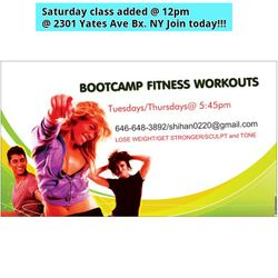 BOOTCAMP FITNESS by SHIHAN RENE'