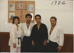 WITH YONEZAWA IN 1986