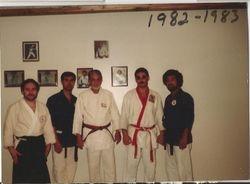 SHINAN PEREIRA AND SHINAN NEGRON AT THE WESTCHESTER SQ. YAMABUSHI DOJO