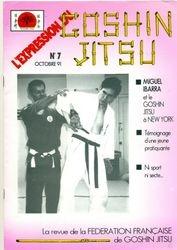 COVER OF GOSHIN JITSU MAGAZINE