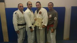 Miguel Promotion to 1st Kyu