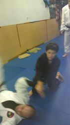 Nicholas Training in Adult Class 12-21-12