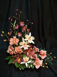 Sugar Flower Table Arrangement
