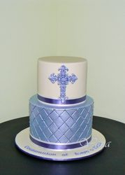 Boy's Communion Cake