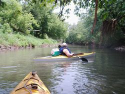 Karen & that kayak were made to BE