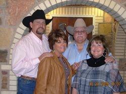 Zane Sterling, Kathy Hunter, Sammy Farmer, and Beverly Allen