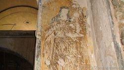 Fresco de la Virgen