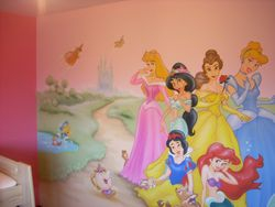 Princess Mural