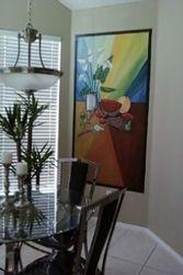 Fruit painting / kitchen decor