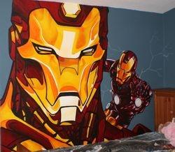 Iron Man Mural