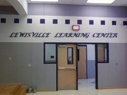 Lewisville learning center letters