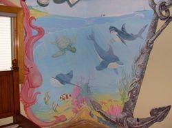 Dolphin Sea Scape