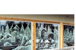 Office winter mural
