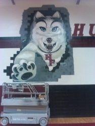 School Mascot - Huskies