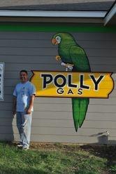 Polly Gas Mural