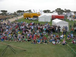 Crowd at Yorke Peninsula Field Days Sept/Oct 2009