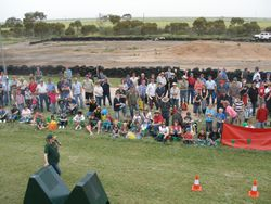 Crowd at Paskeville Field Days Sept/Oct 2009