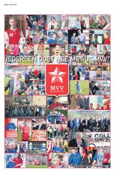 Fotocollage MVV april MVV actiemaand collage made by PubliciteitVisie.nl in de WeekendGezet van deze week 18