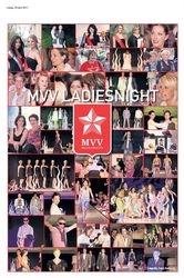 Fotocollage MVV LadiesNight made by PubliciteitVisie.nl in de WeekendGezet van week 17