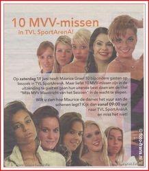 Miss MVV verkiezing