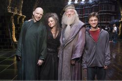Harry Potter, Dumbledore,Bella and Voldemort
