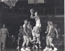 1958 Tournament action
