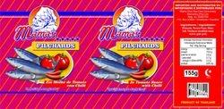 Fish Label design - Chilli