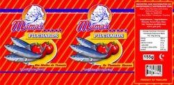Fish label design - Tomato