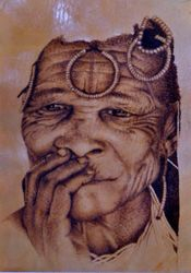 Another Bushman woman