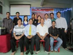 With Penang MCF Leaders