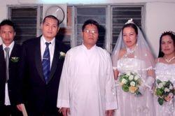 Seni & husband (Karen and Mizo)
