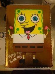10 serving spongebob $90