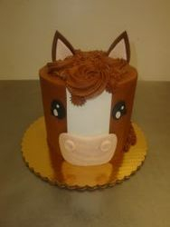 15 serving horse cake $65