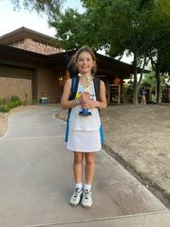 Evelina 1st place 12s green