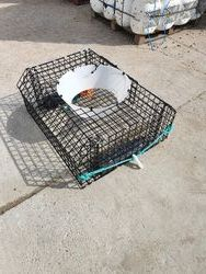"36""x30.5""x14.5 top entry spider trap"