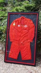 Red Arrows overalls.