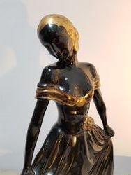 Detail de la figurine de Catherine Barjansky